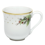 Herend China Winter Shimmer Porcelain Mug