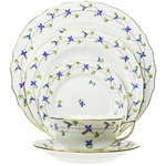 Herend Blue Garland Five Piece Place Setting