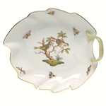 Herend Rothschild Bird Leaf Dish