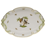 Herend Rothschild Bird Ribbon Tray
