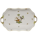 Herend Rothschild Bird Rectangular Serving Tray