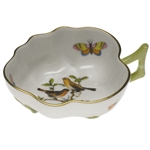 Herend Rothschild Bird Deep Leaf Dish