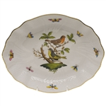 Herend Rothschild Bird Oval Dish