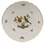 Herend Rothschild Bird Dinner Plate Motif #7