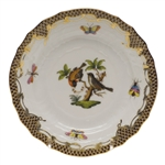 Herend Rothschild Bird Brown Bread & Butter Plate Motif #12