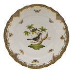 Herend Rothschild Bird Brown Dinner Plate Motif #1