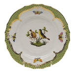 Herend Rothschild Bird Green Bread & Butter Plate Motif #7