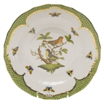Herend Rothschild Bird Green Dessert Plate Motif #3