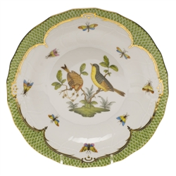 Herend Rothschild Bird Green Dessert Plate Motif #7