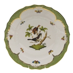 Herend Rothschild Bird Green Dinner Plate Motif #4