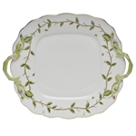 Herend Rothschild Garden Square Cake Plate
