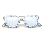 Herend Sun Glasses Figurine Blue Fishnet
