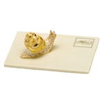 Herend Snail Mail Figurine Butterscotch Fishnet