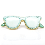 Herend Sun Glasses Figurine Green Fishnet