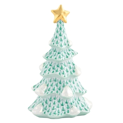 Herend Simple Christmas Tree Green Fishnet