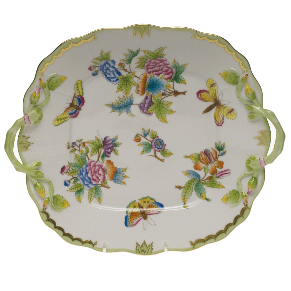 sc 1 st  Herendstore.com & Herend Queen Victoria Square Cake Plate