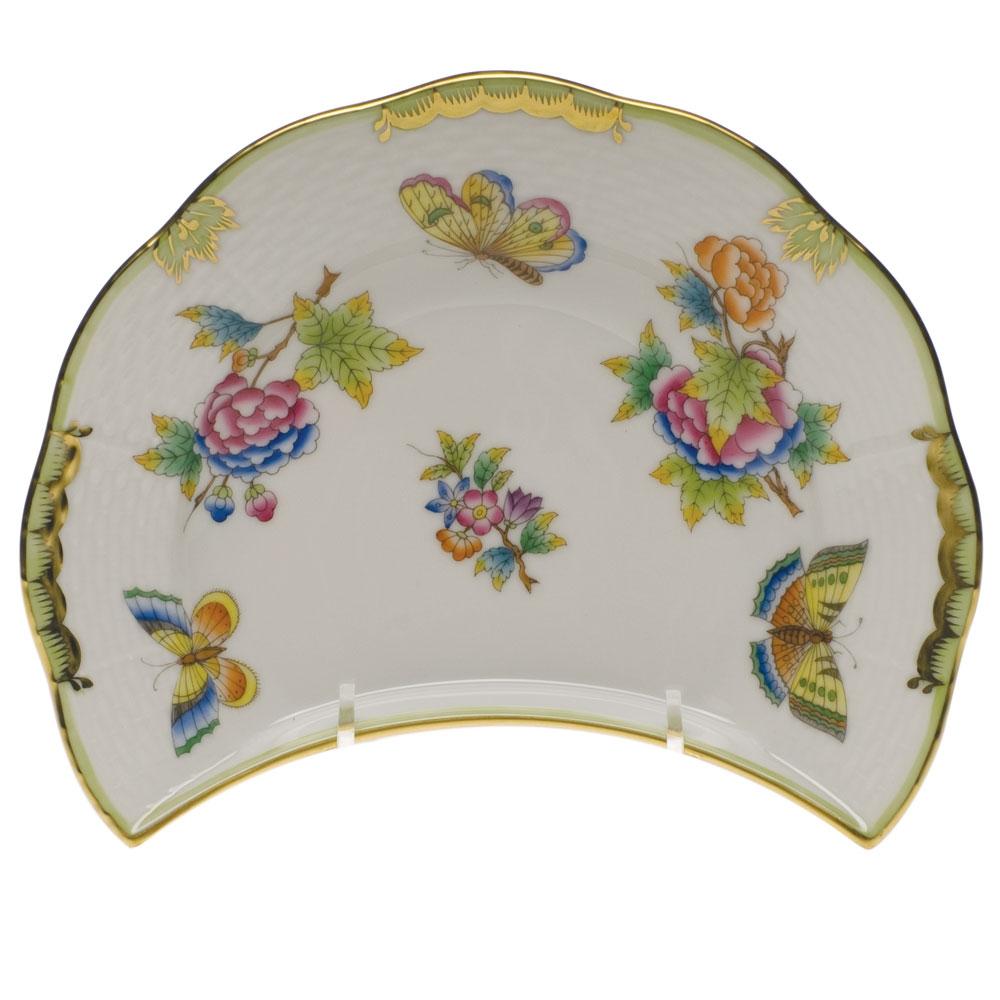 Herend Printemps Crescent Salad Plate # 530