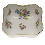Herend Queen Victoria Square Salad Bowl