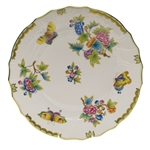 Herend Queen Victoria Porcelain Dinner Plate
