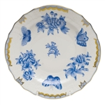 Herend Fortuna Blue Salad Plate