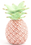 Herend Medium Pineapple Figurine Rust Fishnet
