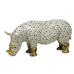 Herend Figurine Rhinoceros Reserve Collection