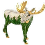 Herend Moose Among Pines Multicolor Reserve  Collection