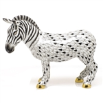 Herend Zebra Figurine Reserve Collection