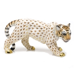 Herend Young Tiger Figurine Reserve Collection