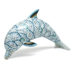 Herend Dolphin Figurine Reserve Collection