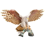Herend Landing Hawk Figurine Reserve Collection