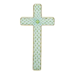 Herend Figurine Cross Key Lime Fishnet
