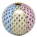 Herend Figurine Beach Ball Multi Color